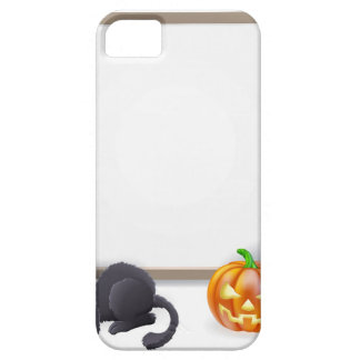 Halloween Sign with Mummy and Frankenstein iPhone 5 Covers