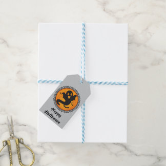 Halloween Silhouettes Ghost Gift Tag Pack Of Gift Tags