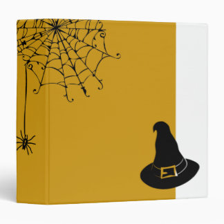 Halloween Silky Spider Binder