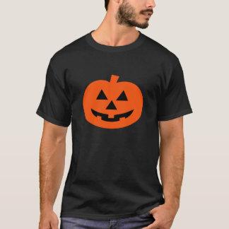 Halloween Silver Shamrock Logo Front & Back T-Shirt