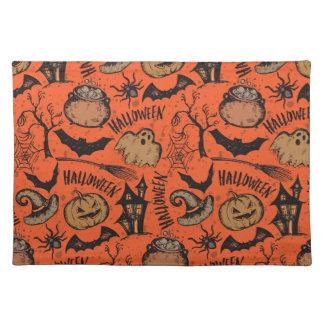 Halloween sketch! place mat