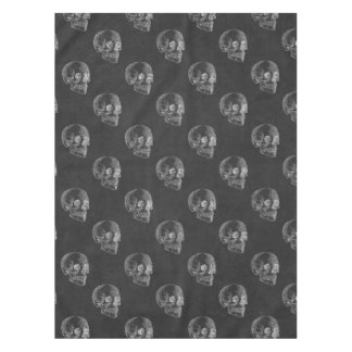 Halloween Skull Chalkboard Pattern Tablecloth