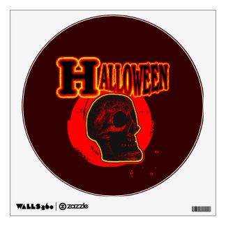 Halloween Skull! Wall Sticker