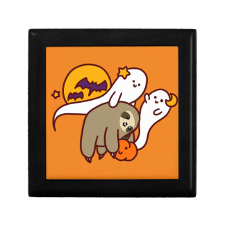 Halloween Sloth Gift Box
