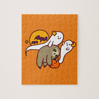 Halloween Sloth Jigsaw Puzzle