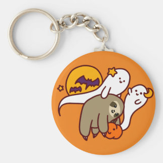 Halloween Sloth Keychain