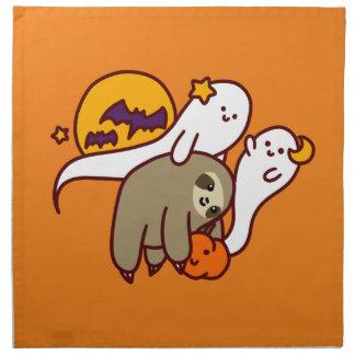 Halloween Sloth Napkin