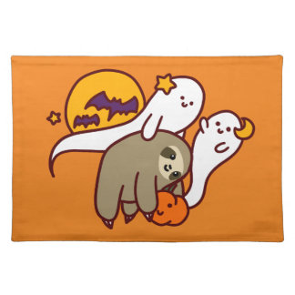 Halloween Sloth Placemat