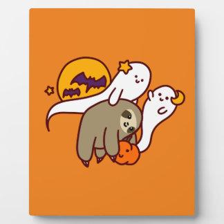 Halloween Sloth Plaque