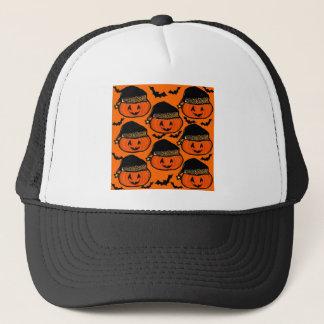 HALLOWEEN SMALL PUMPKINS TRUCKER HAT