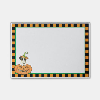 Halloween Smooth Fox Terrier Post-it® Notes