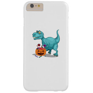 Halloween Sneak Dinosaur Funny  Halloween Candy Barely There iPhone 6 Plus Case
