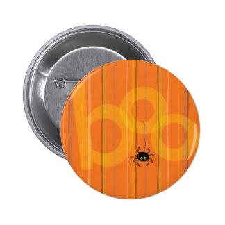 Halloween Spider Boo Button