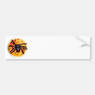 Halloween Spider Cookie Bumper Stickers