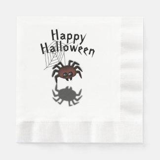 Halloween Spider Disposable Napkin