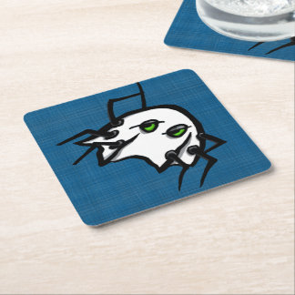 Halloween Spider Ghost Coasters