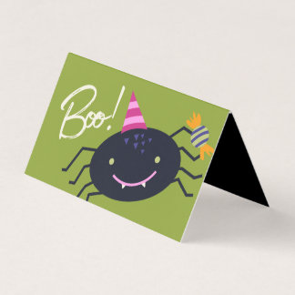 Halloween Spider Goodie Bag Tag