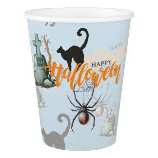 Halloween Spider Grave Paper Cup