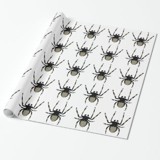Halloween Spider pattern Wrapping Paper