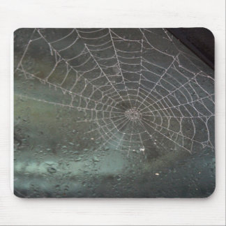 Halloween Spider Web Mousepad