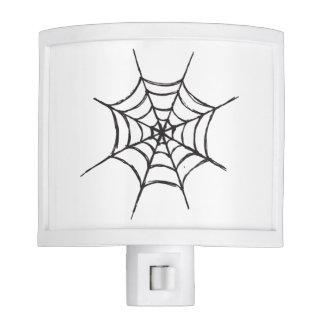 Halloween Spider Web Night Light
