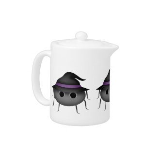 Halloween spider witch