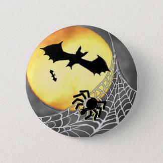 HALLOWEEN SPIDERS & BATS Button