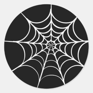 Halloween Spiderweb Envelope Sticker Seal