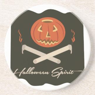 Halloween Spirit Flag Coasters