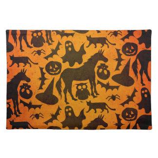 Halloween Spook Unicorn Placemat