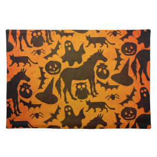 Halloween Spook Unicorn Placemats