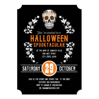 Halloween Spooktacular Party Invitations