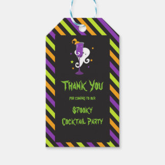 Halloween Spooky Cocktails Party Gift Tags
