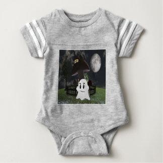 Halloween spooky ghost baby bodysuit
