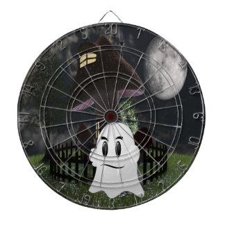 Halloween spooky ghost dartboard