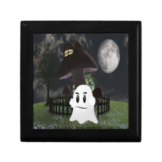 Halloween spooky ghost gift box