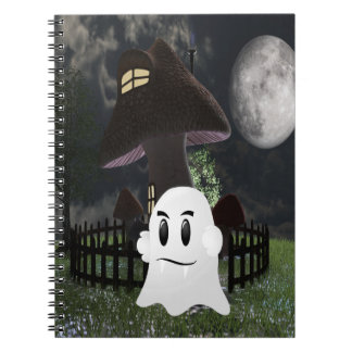 Halloween spooky ghost notebooks