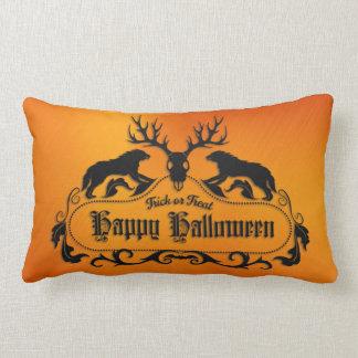 Halloween - Spooky Happy Halloween - All Options Lumbar Pillow