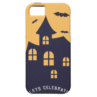 Halloween Spooky Mansion and Bats Case For The iPhone 5