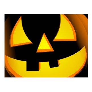 Halloween - Spooky Pumpkin Postcard