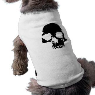 Halloween spooky skull pet clothes