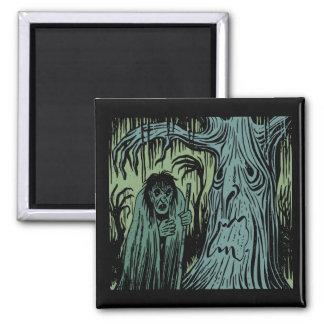 Halloween Spooky Tree Magnet