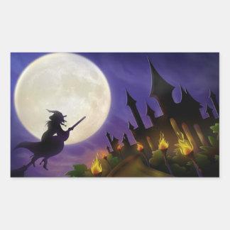 Halloween Sticker Rectangulaire