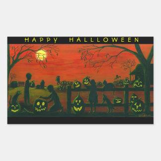 Halloween stickers,Jack-O-Lanterns,dog,black,cat Sticker