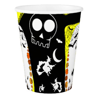 HALLOWEEN STORY [yellow passage] Paper Cup