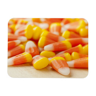 Halloween Striped Candy Corn Rectangular Photo Magnet