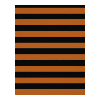 Halloween Stripes Letterhead