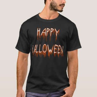 Halloween Suffering Text T-Shirt