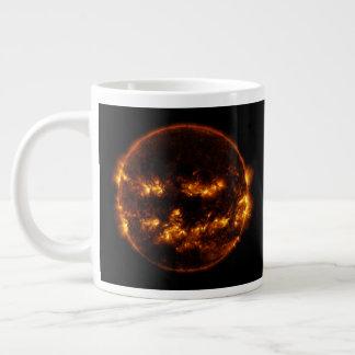 Halloween Sun/Jack-O-Lantern Large Coffee Mug