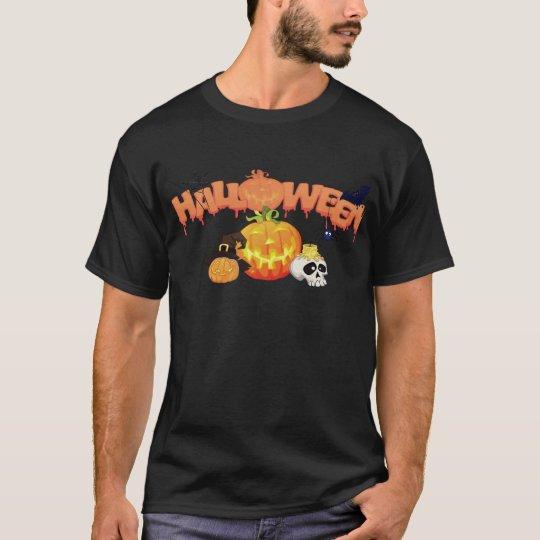 Halloween T-Shirts Jack-o-lanterns, Spider, Skull